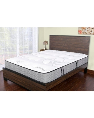 Sleep Therapy Natural Cotton 11.5 Inch Medium Firm Quilted-Top Mattress,Twin