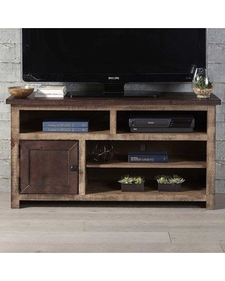 """Union Rustic Woodsburgh TV Stand for TVs up to 50"""" UNOR1024 Color: Dark Pine/Light Pine"""