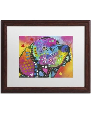 """Trademark Art 'Psychedelic Lab' Framed Painting Print on Canvas ALI1407-W1114MF / ALI1407-W1620MF Size: 16"""" H x 20"""" W x 0.5"""" D"""