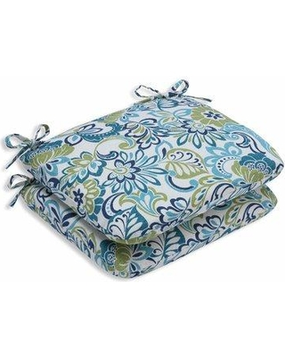 Winston Porter Indoor/Outdoor Floral Dining Chair Cushion W000906770