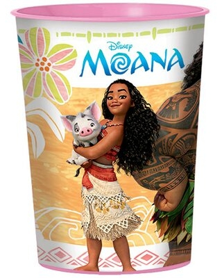 Moana Plastic Disposable Favor Cup NA