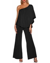 Boston Proper - Triple Threat Jumpsuit - Black - BLACK - XX SMALL