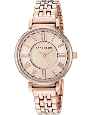 Anne Klein Women's AK/2158RGRG Rose Gold-Tone Bracelet Watch