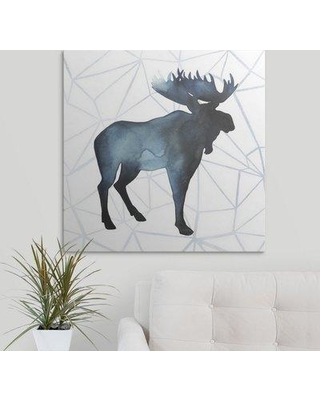 """Great Big Canvas 'Animal Silhouettes III' Grace Popp Graphic Art Print 2409793_1_ Size: 48"""" H x 48"""" W x 1.5"""" D Format: Canvas"""