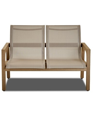 Find Savings On Kuo Patio Teak Loveseat