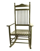 August Grove® Sylvester Rocking ChairWood/Solid Wood in Brown, Size 46.0 H x 26.0 W x 31.0 D in | Wayfair CA3D7D92430243EEB1A78F61ADD0DDB8