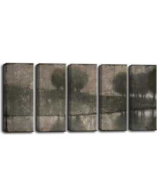 Williston Forge 'Granite Banks' 5 Piece Painting Print on Wrapped Canvas Set WLSG1208