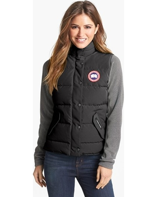 Womens Canada Goose Freestyle Slim Fit Down Vest, Size XX-Small (