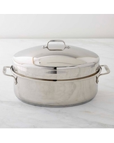 All Clad Stainless-Steel Covered Oval Roaster
