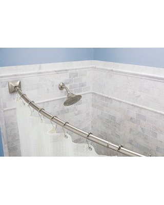 Get The Deal 19 Off Moen 72 Adjustable Curved Shower Curtain Rod