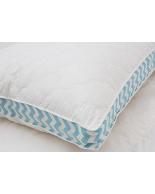 Alwyn Home Cloud Quilted Printed Gusset Down Alternative Pillow ANEW3025 Size: Jumbo