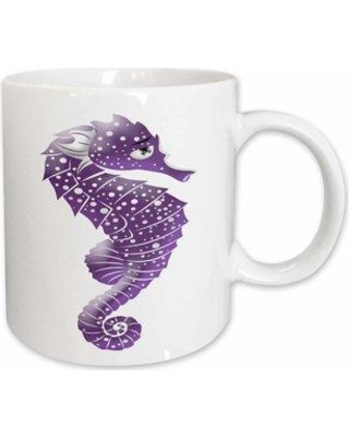 East Urban Home Cute Speckled Sea Horse Coffee Mug W000309446