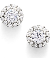 Women's Nordstrom Precious Metal Plated Cubic Zirconia Stud Earrings
