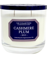 Jar Candle Cashmere Plum 12oz - THE Collection by Chesapeake Bay Candle