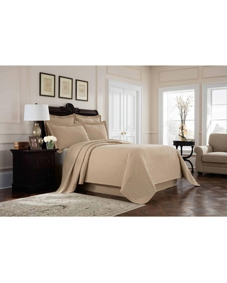 Royal Heritage Home Williamsburg Richmond Linen Twin Coverlet Set