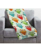 Deny Designs Andi Bird Throw Blanket 14191-fle Size: Small
