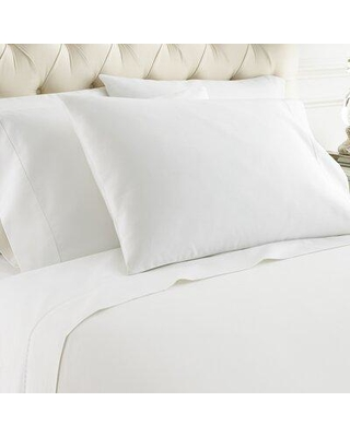 Darby Home Co Bojorquez 1000 Thread Count Cotton Blend Sheet Set X111462860 Size: Full Color: White