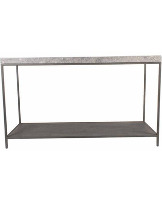 Makrana Collection EI-1045-15 Console Table with Iron Frame in Gray