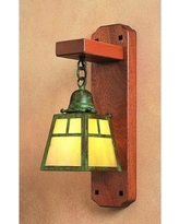 Arroyo Craftsman A-Line 5 Inch Wall Sconce - AWS-1T-M-RC