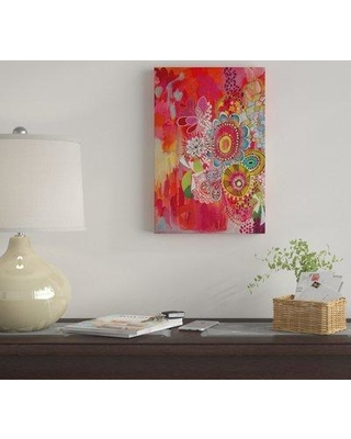 """East Urban Home 'Miss Libby' By Stephanie Corfee Graphic Art Print on Canvas EUME2469 Size: 12"""" H x 8"""" W x 0.75"""" D"""