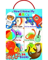 Now I Know MY ABCs My First Library Book Block 24-Book Set - PI Kids