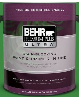 BEHR Premium Plus Ultra 1 gal. #T12-9 Level Up Eggshell Enamel Interior Paint and Primer in One