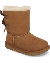 Toddler Girl's Ugg Bailey Bow Ii Water Resistant Genuine Shearling Boot, Size 6 M - Brown