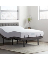 Lucid Comfort Collection Adjustable Bed Base and Mattress LUCC10MFL6LP Size: Queen
