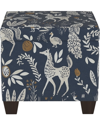 Surprising Threshold Pattern Fairland Square Storage Ottoman Blue Animal Print Threshold From Target Martha Stewart Alphanode Cool Chair Designs And Ideas Alphanodeonline