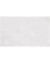 "Garland Queen Cotton Washable Bath Rug - White (30""x50"")"