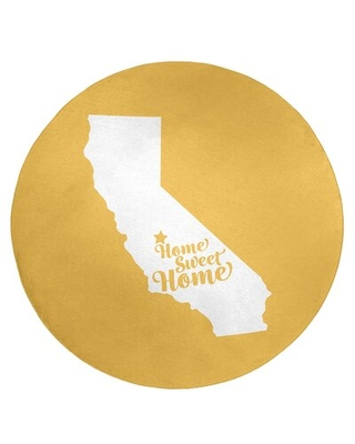 Home Sweet Fresno Poly Chenille Rug