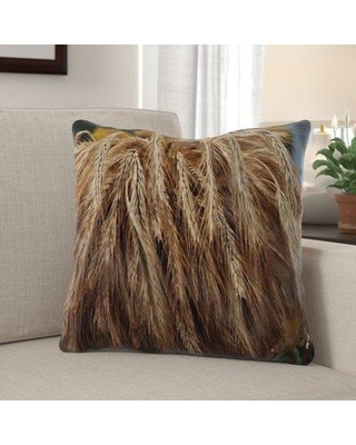 Amazing Deals On The Holiday Aisle Garay Thanksgiving Indoor Outdoor Throw Pillow Polyester Polyfill Polyester Polyester Blend In Brown Size 18x18 Wayfair