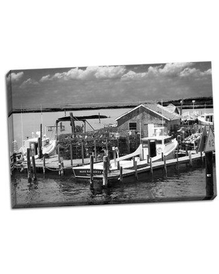 Breakwater Bay 'Working Boats' Photographic Print on Wrapped Canvas BI056231
