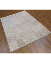 Shopping Special For Wolfsberg Floral Persia Hand Tufted Wool Brown Ivory Area Rug Bloomsbury Market