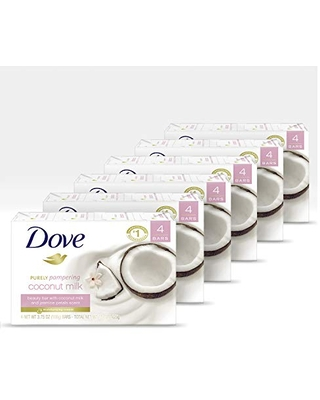 DOVE BAR Go Fresh Beauty Bar Gentle Cleanser for Softer and Smoother Skin Cool Moisture with 1/4 Moisturizing Cream, More Moisturizing than Bar Soap 8 Bars 3 Count, 3.75 Ounce, 24 Count