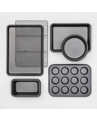 6pc Carbon Steel Bakeware Set - Made By Design