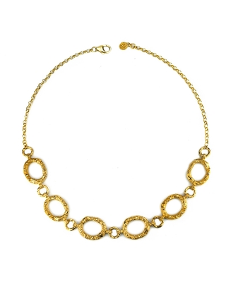 Annabelle Lucilla Jewellery - Night's Sky Etched Chain Necklace
