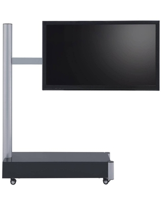 Symphony Tv Stand Silver/Black - Proman Products