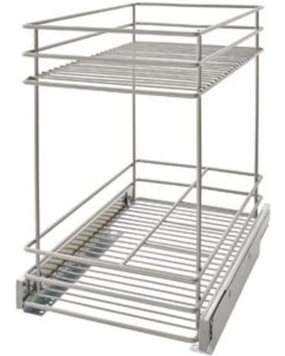 ClosetMaid 2 Tier Kitchen Cabinet Pull Out Drawer 32104