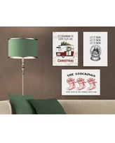 """The Holiday Aisle 'Let It Snow Globe' Graphic Art Print THLY1741 Size: 15"""" H x 10"""" W, Format: Unframed"""