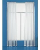 Sheer Curtain Panel 60X84 - 60X84 - Room Essentials, White