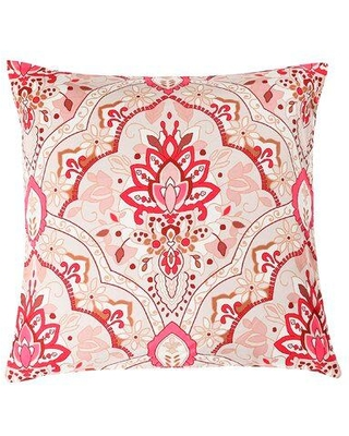 Spectacular Sales For Winston Porter Barnys Floral Throw Pillow Polyester Polyfill Polyester Polyester Blend In Red Size 18x18 Wayfair