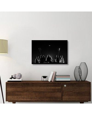 """East Urban Home 'Heavenly Raaga' Photographic Print On Wrapped Canvas ERNH1403 Size: 24"""" H x 36"""" W x 1.5"""" D"""