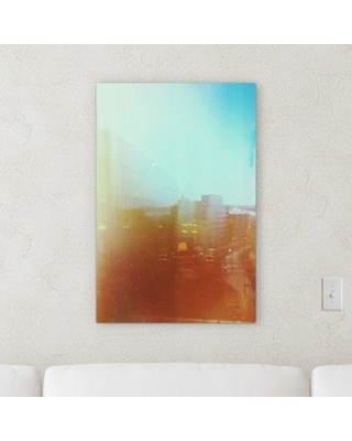 "Ebern Designs 'Blury Style' Graphic Art Print on Wrapped Canvas BF068828 Size: 54"" H x 36"" W x 2"" D"