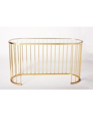 Blink Home Athens Console Table BH16987 / BH16988 Color: Gold