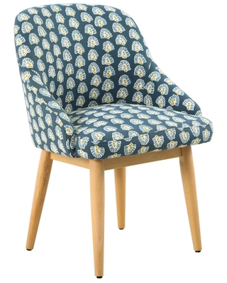 Awesome Great Summer Sales On Riley Accent Chair Floral Teal Blue Gmtry Best Dining Table And Chair Ideas Images Gmtryco