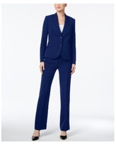 Anne Klein Executive Collection 3-Pc. Pants and Skirt Suit Set, Created for Macy's - Navy