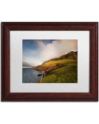 """Trademark Art Spellbound by Philippe Sainte-Laudy Framed Photographic Print PSL0832-B1114MF / PSL0832-B1620MF Size: 11"""" H x 14"""" W x 0.5"""" D Frame Color: Black"""