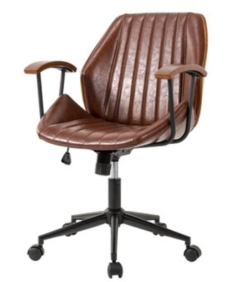 Can T Miss Deals On Victorino Task Chair Corrigan Studio Upholstery Color Russet