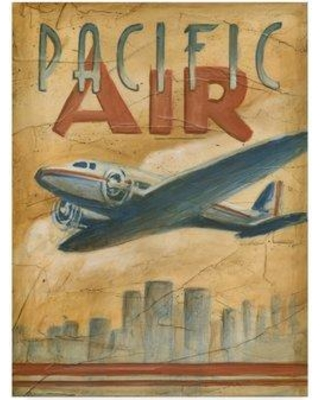 "Winston Porter 'Pacific Air' Acrylic Painting Print on Wrapped Canvas WNPO4363 Size: 47"" H x 35"" W x 2"" D"